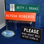 Name Badges & Signs