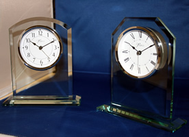 Engraved Clocks